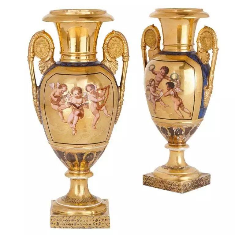 英法古董瓷器对比(一)